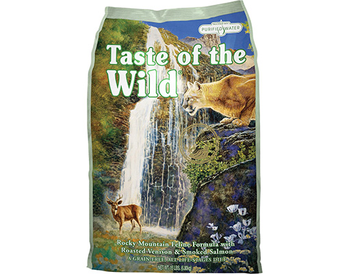 taste wild mountain formula roasted review